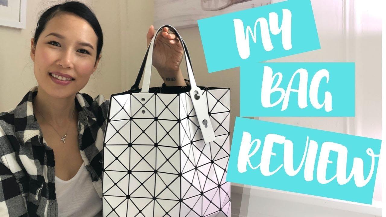 bao bao issey miyake lucent tote bag review