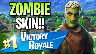 "New ""Brainiac"" Skin!! (10 Frag Solo Victory) - Fortnite: Battle Royale Gameplay"