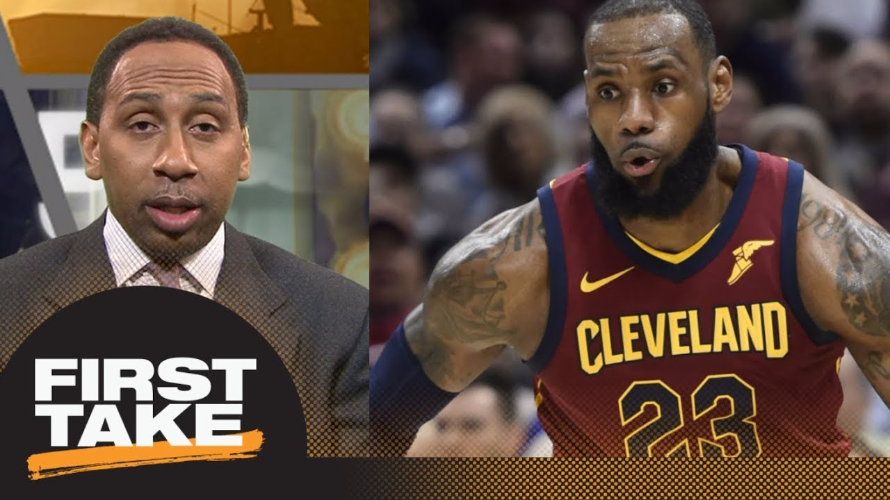 Stephen A Smith On Lebron James Season It Hasn T Been Great First Take Espn