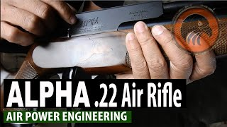 ALPHA .22 Air Rifle Air Power Engineering