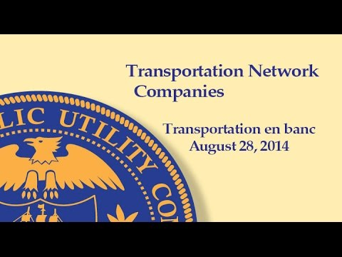 Transportation Network Companies