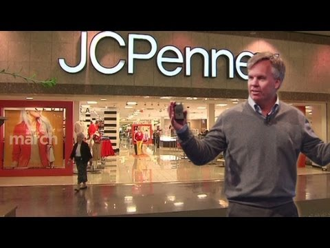 JCPenney CEO's road to unemployment line