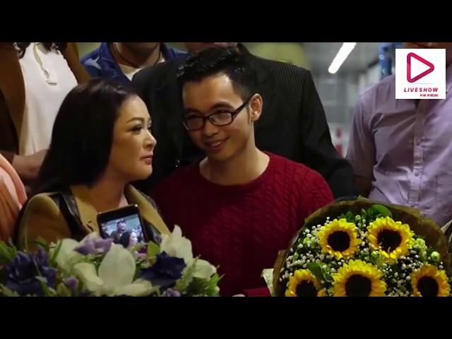 Ca sĩ Như Quỳnh tới Hà Nội giữa đêm làm náo động sân bay Nội Bài