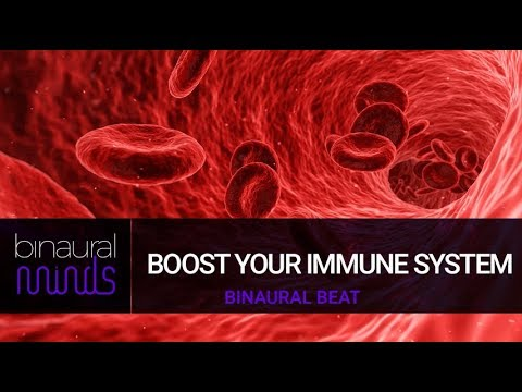 BOOST YOUR IMMUNE SYSTEM - 3 Hours Binaural Beats Theta Wave Session
