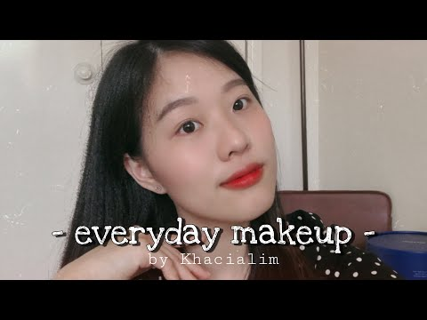 everyday-makeup-(super-simple)-||-khacia-lim