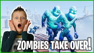 Zombies Really Take Over!!!