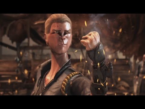Mortal Kombat X: Scorpion and Sonya Blade Swap Fatalities,Intros and Outros