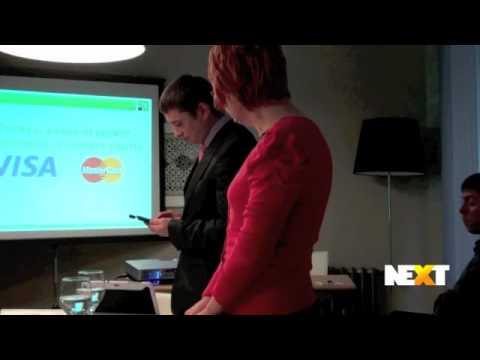 PrivatBank preses konference par mobilajiem karšu lasītājiem