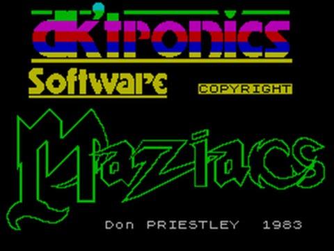 Maziacs - Игра в которую я играл ровно 25 лет назад.