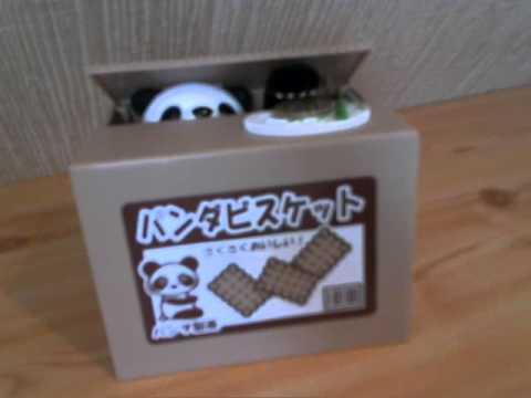 Itazura Coin Bank Panda