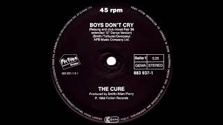 The Cure - Boys Don't Cry (New Voice • Club Mix) 1986