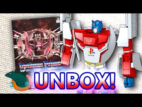 Optimus Prime Playstation X Transformers UNBOXING