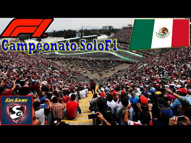 🔴 F1 2019 - Retransmisión SoloF1 // Gp Mexico 19-21