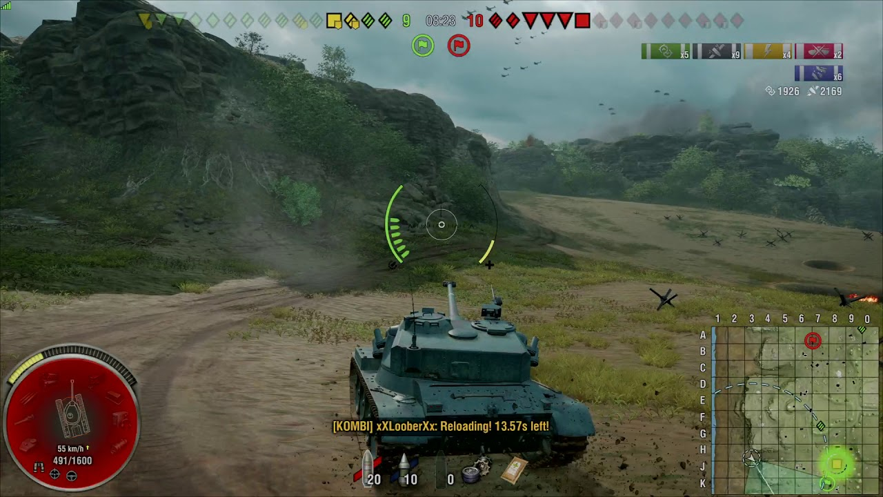 Bat chat 25 T AP. Platoon carry. WOT console - YouTube