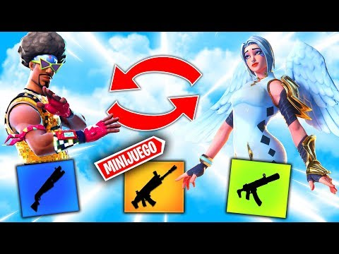 *NO INTERCAMBIES EL ARMA EQUIVOCADO* FORTNITE MINIJUEGOS