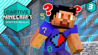 ROOM OF NUMBERS! - Captive Minecraft IV #3