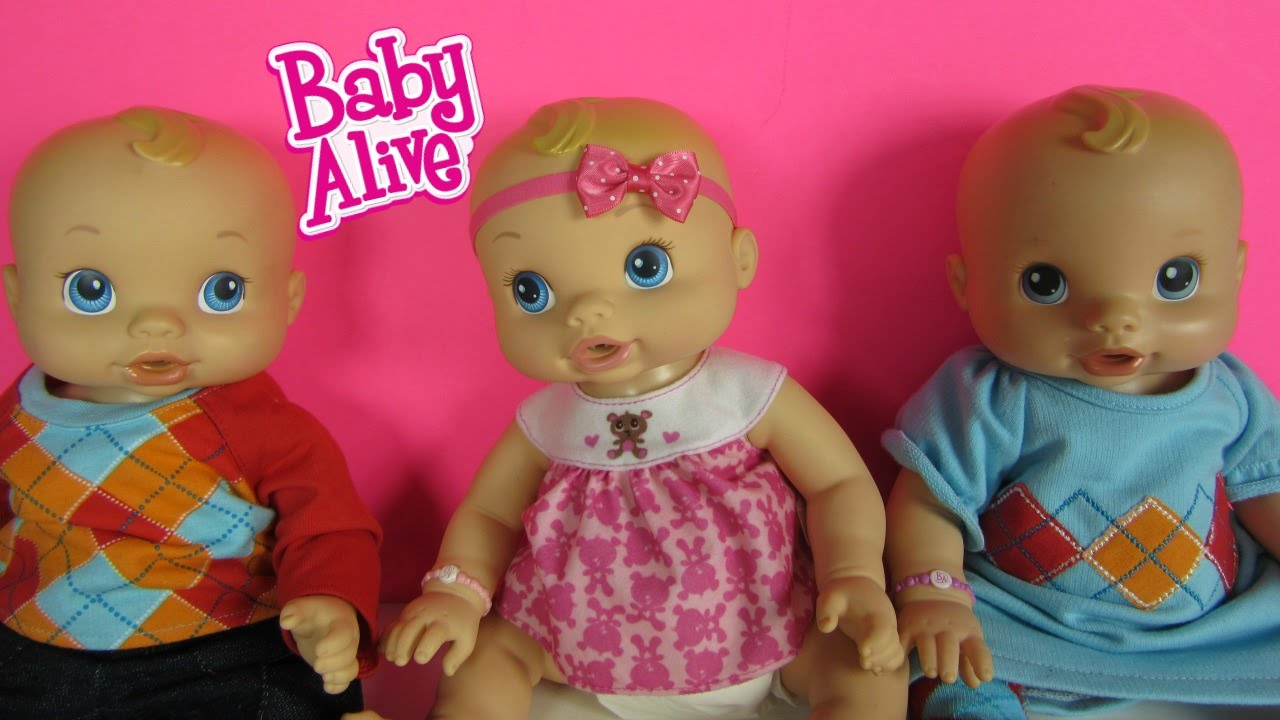 Baby Alive Wets N Wiggles Rare Girl Doll We Found Sam S