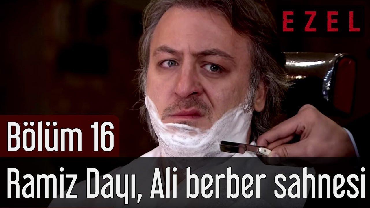 Ezel 16.Bölüm Ramiz Dayı Kerpeten Ali Berber Sahnesi