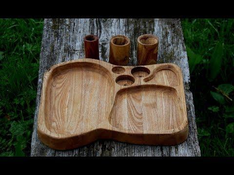 Учусь работать фрезером. Деревянная тарелка/I Am Learning To Work As A Milling Cutter. Wooden Plate