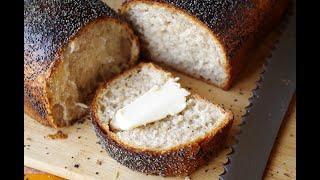 Тостовый хлеб с маком на закваске