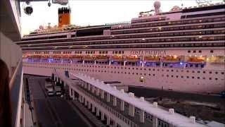 Costa Deliziosa Vs Costa Pacifica - Savona Arrival