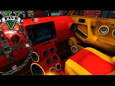 GTA 5 TALLER DE BENNY'S PARA LA CAMPAÑA LOWRIDERS ( AHORA SI XD )