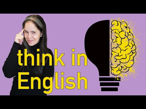 THINK in ENGLISH! Powerful Flashcard Lesson for THINKING in ENGLISH | Rachel's English