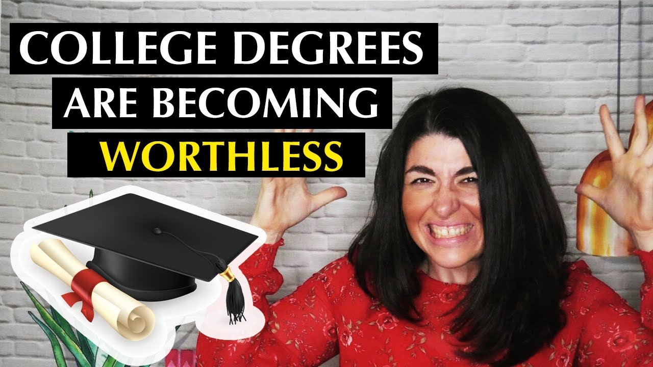 🔥 College Degrees are Becoming Worthless - YouTube