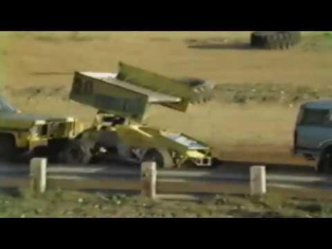 Grays Harbor Raceway - Sprint Car Racing 1987 Part 2