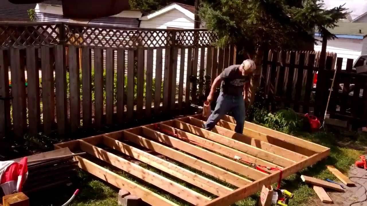 Platform Deck Building Timelapse