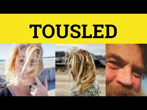 🔵 Tousle - Tousled Meaning - Tousle Examples - Tousled Defined