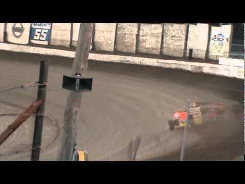 2011 LEBANON VALLEY SPEEDWAY MR DIRT TRACK USA BILLY DECKER HEAT RACE