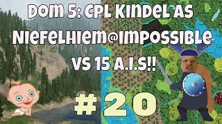 Dominions 5, Cpl. Kindel gameplay episode #20 Dom 5 is a turn based 4x fantasy strategy wargame