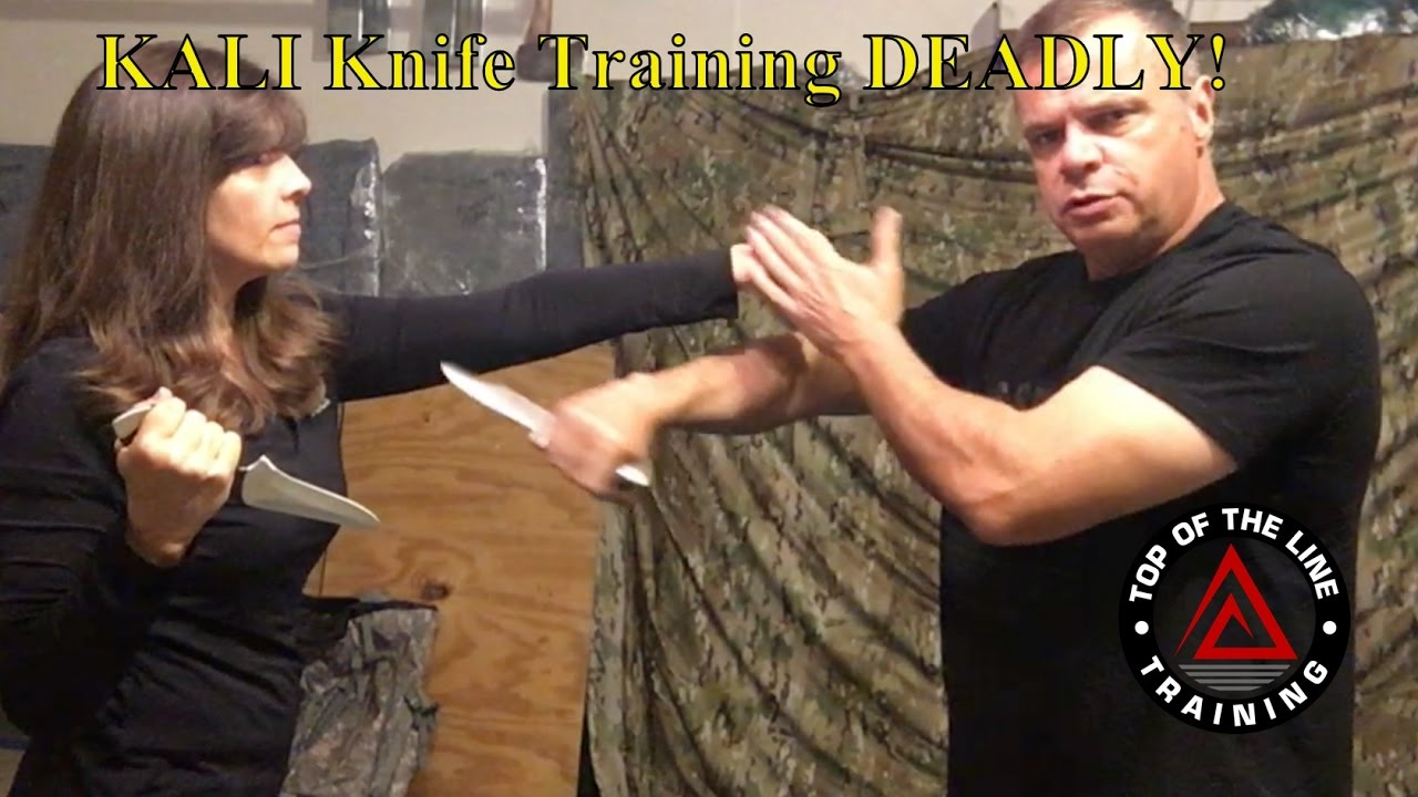 Kali Knife Training Deadly!