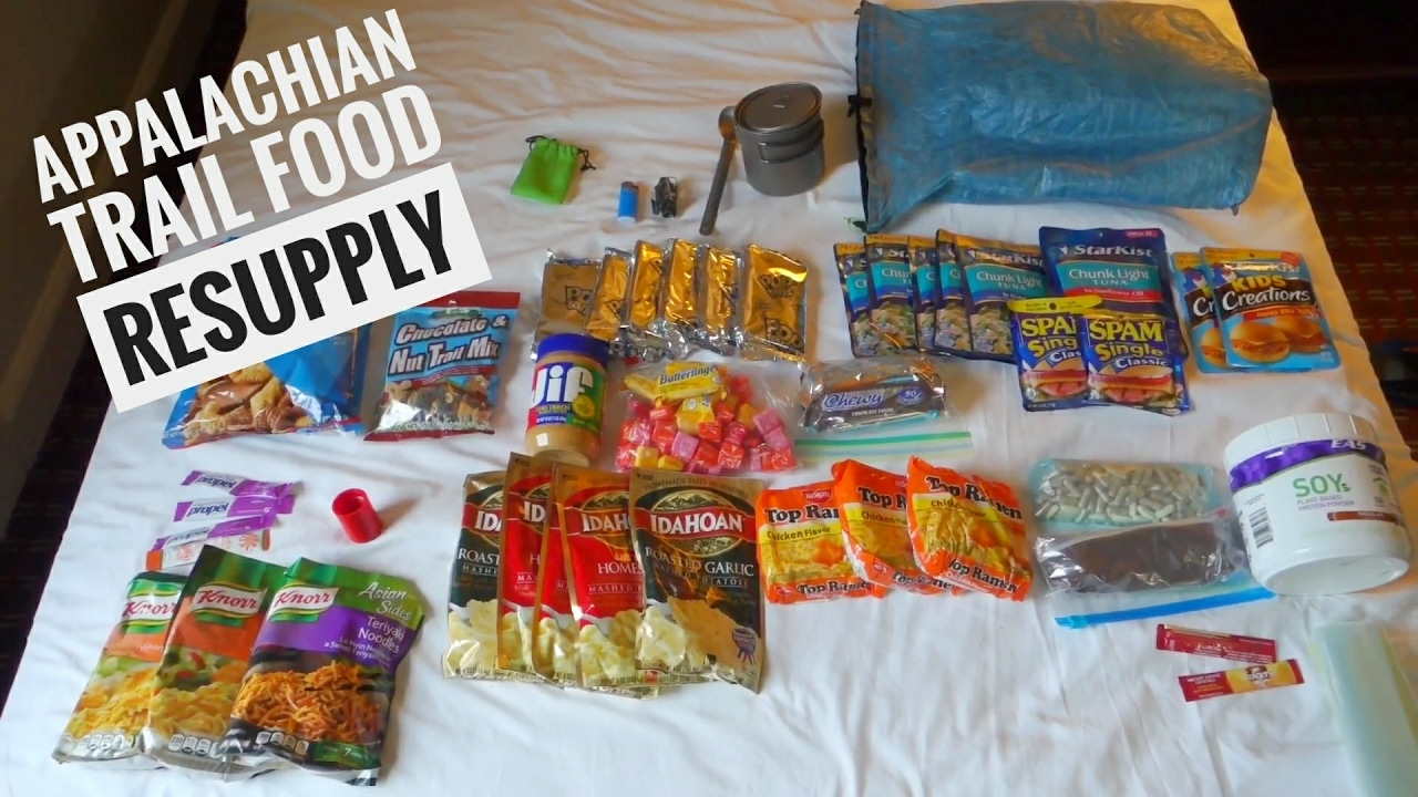 Appalachian Trail Food Resupply What I Have Been Eating On The At
