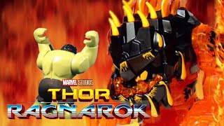 Thor Ragnarok - Official Trailer in LEGO