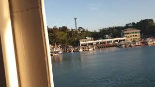 통영에서 욕지도가는  여객선에서  본 풍경이 아름다워요…