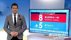 Ziehung der Lottozahlen vom 29.01.2020
