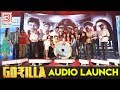 FULL VIDEO : GORILLA AUDIO LAUNCH | Jiiva, Shalini Pandey | Yogi Babu, Sathish | Sam CS | Radharavi
