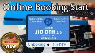 Jio set top box | specifications | features | Plans | Channels | Unboxing | online booking