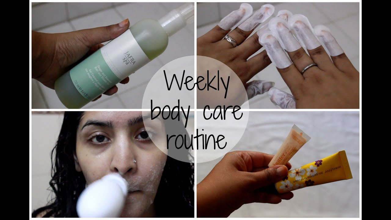 Weekly Body Skin Care Routine | Pamper Yourself - YouTube