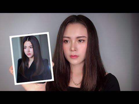 """Makeup theo phong cách của Nira trong """"chiếc lá cuốn bay"""" 🍒🍒 Oanh Khởi"""