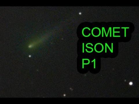Comet ISON (C/2012 S1) 10/6/2013 - Backyard P1 - YouTube