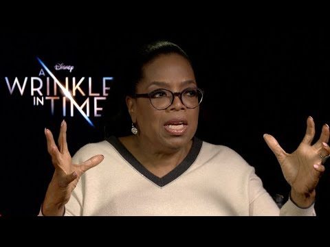 Oprah Winfrey Talks 'A Wrinkle in Time' & Directing Her OWN FILM!