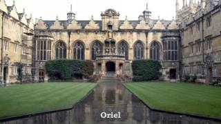 Oxford University's Beautiful Colleges
