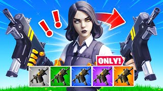 Fortnite, But I Can ONLY Use the Rapid Fire SMG…