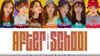 Download ✨WEEEKLY - 'AFTER SCHOOL' Lyrics [Color Coded_Han_Rom_Eng]
