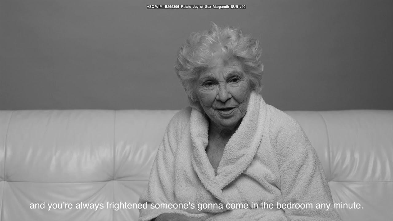 Let's talk the joy of later life sex - Margaret