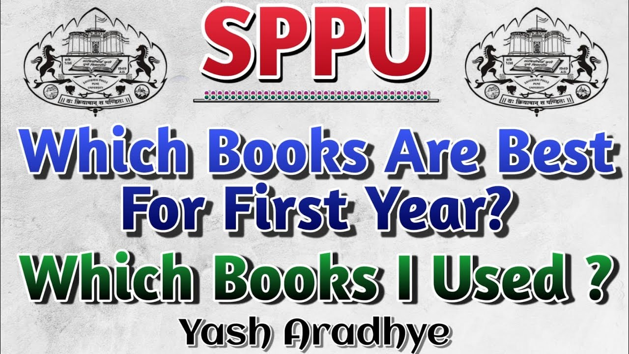 SPPU   Which Books Should You Buy?   Which Books I used?
