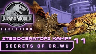 Jurassic World Evolution Deutsch DLC Dr Wu Stegoceratops Kampf Deutsch German #11